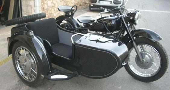 Ural K750 Sidecar homologacion