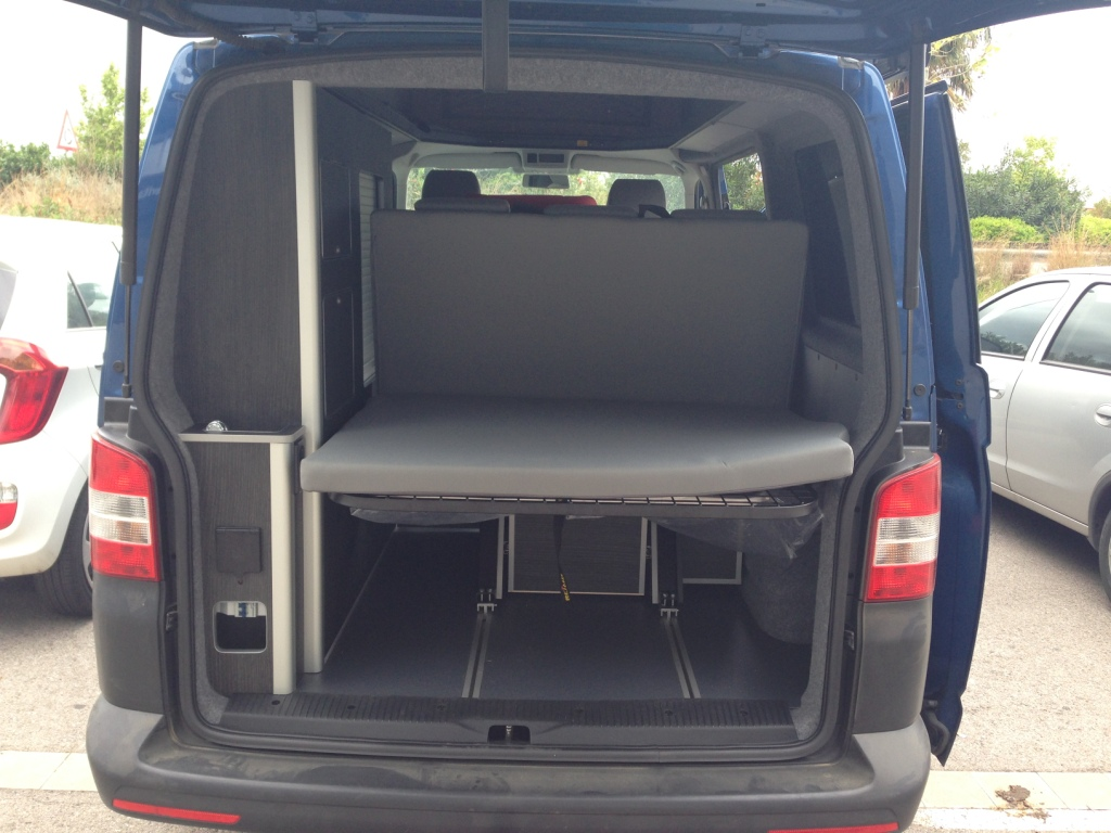 Volkswagen camperizada reducción a 5 plazas
