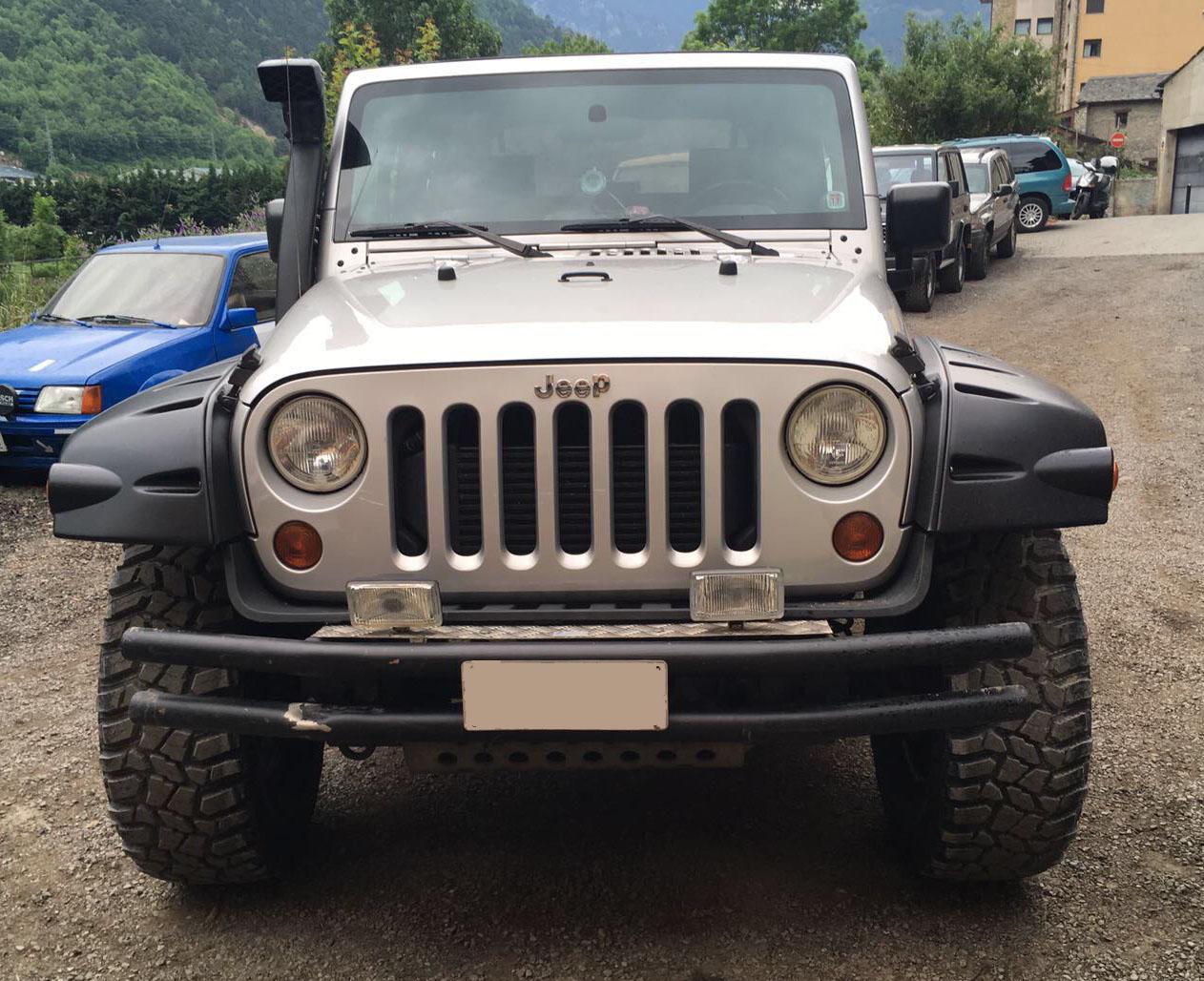 Homologación jeep Wrangler