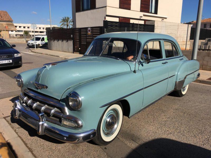 Chevrolet Belair de 1952. Vehículos históricos