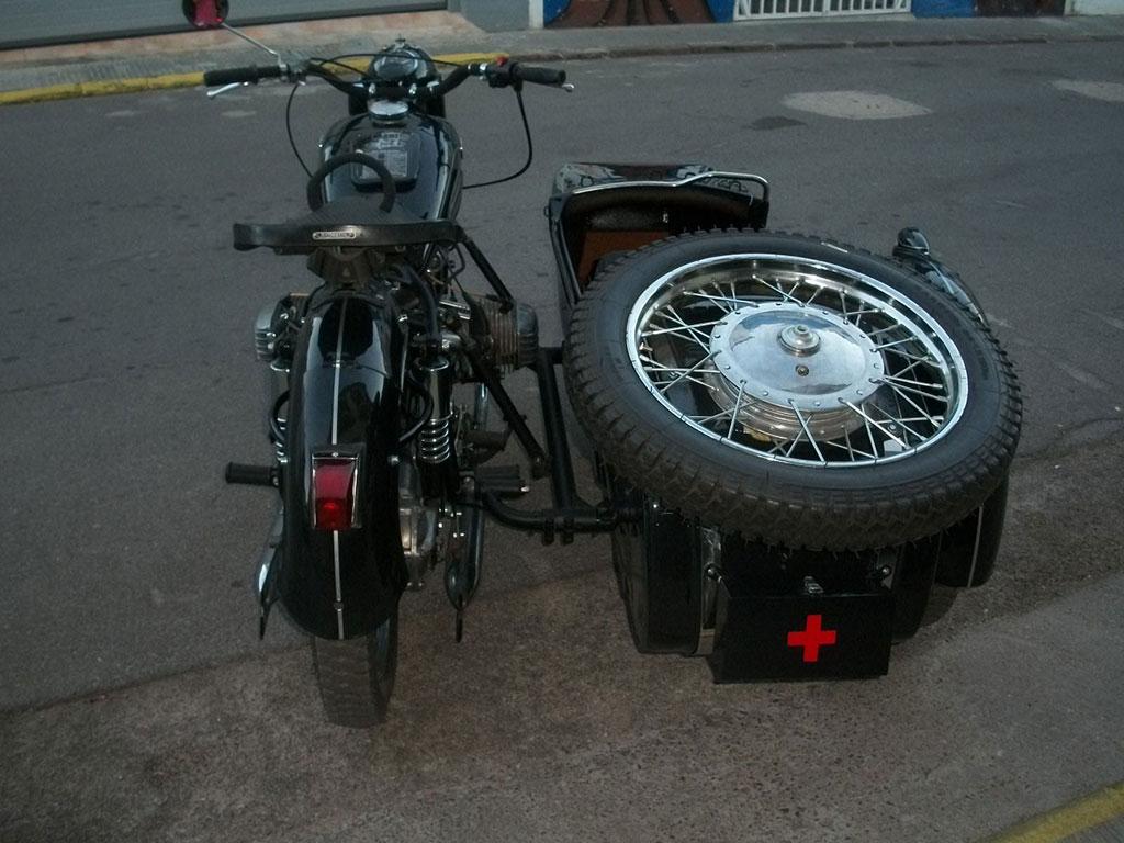 Ural K750 Sidecar historico
