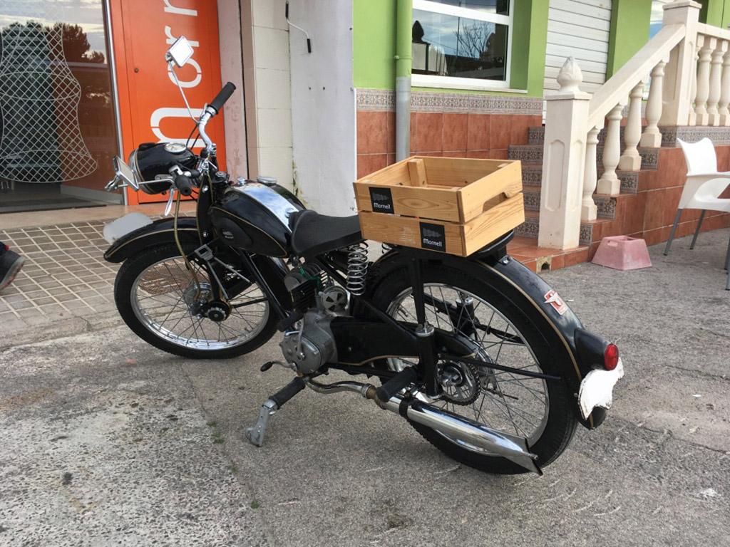 lateral motocicleta historica AdlerWerkeM100