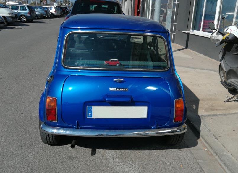 Reformas En Un Morris Mini 850l Del 1973 Homologaciones De Vehiculos