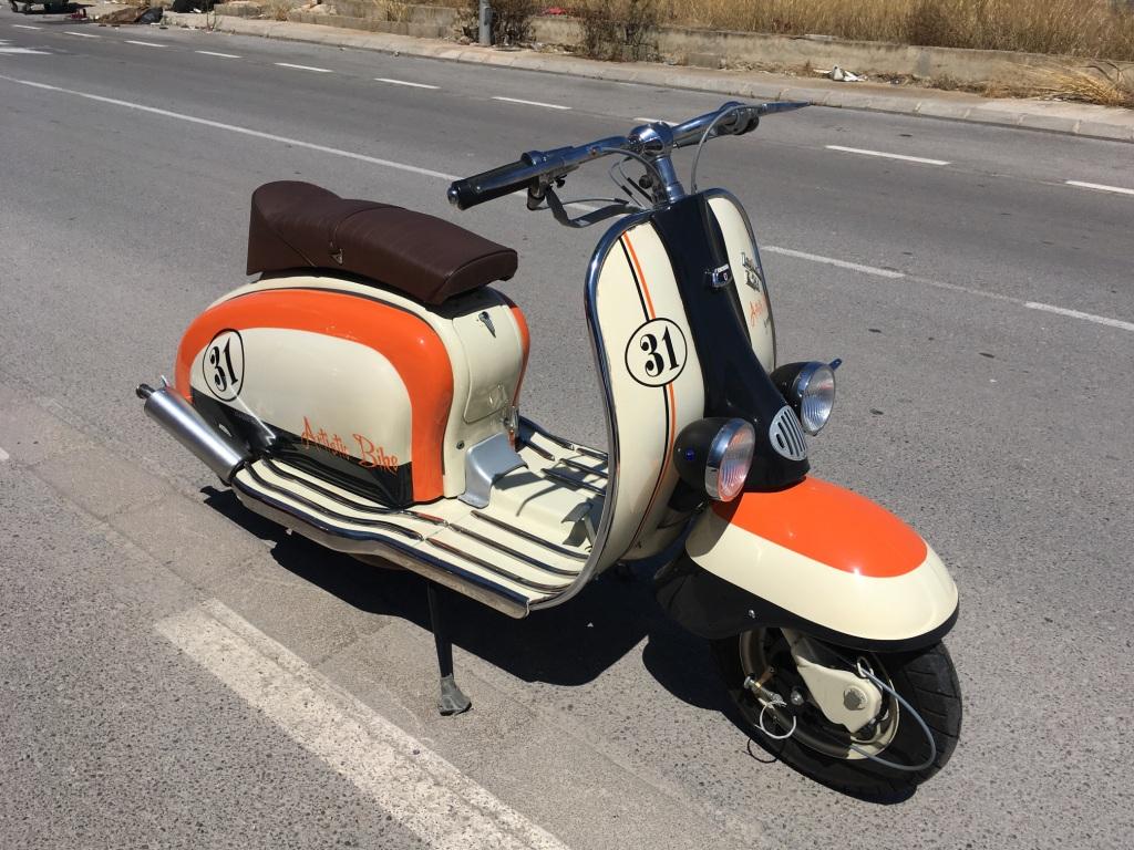 Vehículo Histórico LAMBRETTA 125LI de 1962