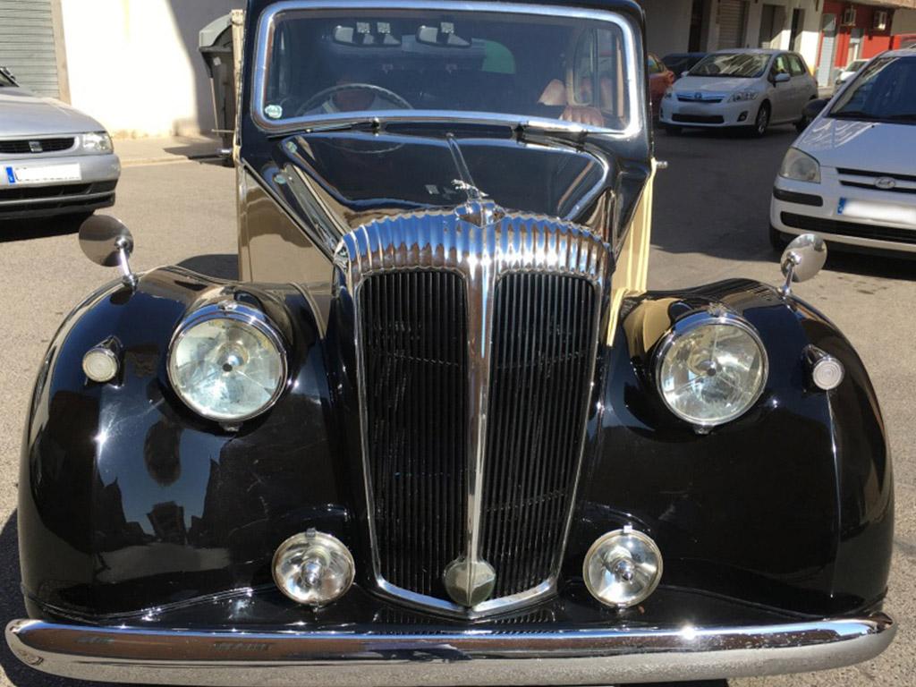 frontal vehiculo historico DaimlerConsort