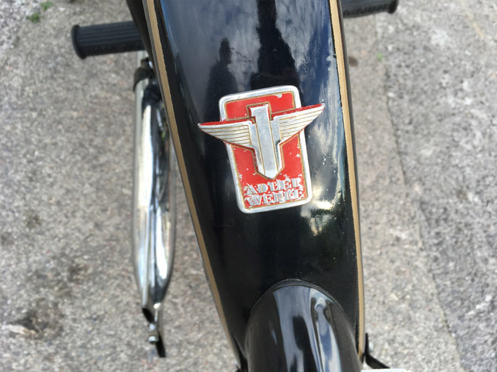 moto historica AdlerWerkeM100