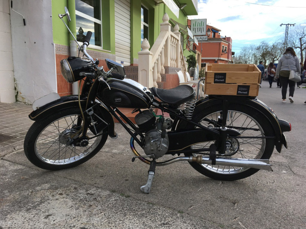 vehiculo historico AdlerWerkeM100